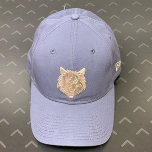 New Era TimberWolves Adjustable Dad Hat